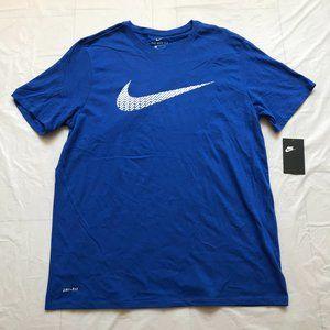 Nike Dri-FIT Mens Tee T-Shirt Size XL Blue NWT